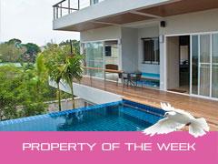 Holiday rental of the week – Modern, luxury pool villa, sea views – Rawai – Phuket