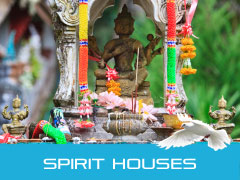 Spirit Houses in Phuket