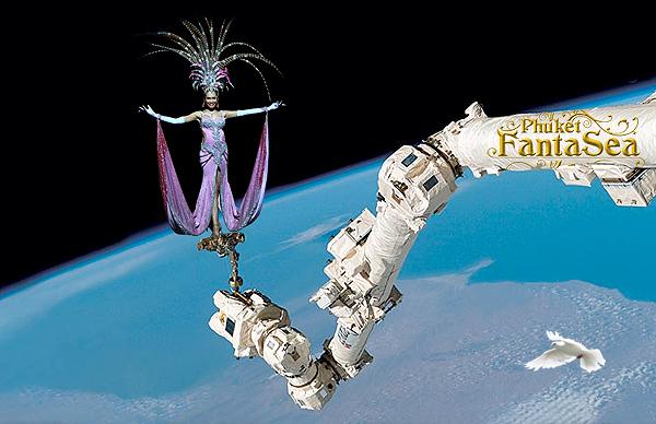 phuket fantasy in space